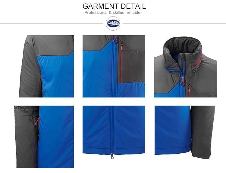 RYH681 Hot sales high end men padded jacket