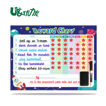 magnetic weekly daily planner flexible dry erase board for fridge