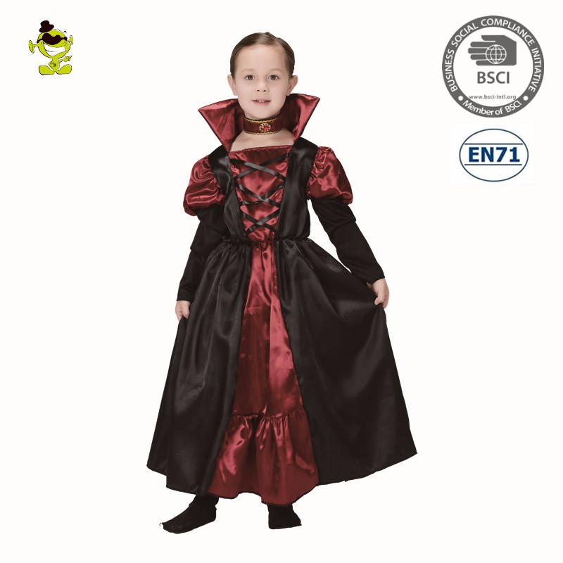 Halloween Carnival Party Kids Vampire Fancy Dress For Children Girls  Costume , Buy Girls Vampire Costume,Kids Vampire Fancy Dress,Halloween  Party