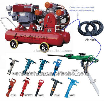 China Supplier Air Compressor Jack Hammer For Mining On Sale