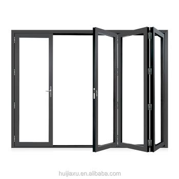 Aluminium Frame Accordion Screen Door, Balcony Screendoor