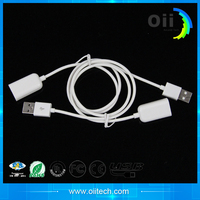 Mobile phone accesories usb to usb cord