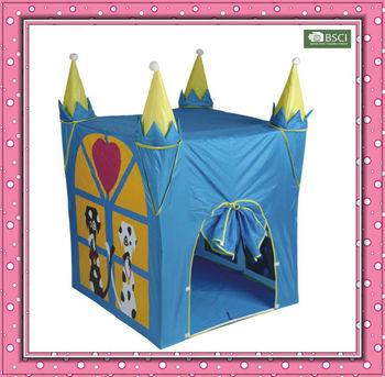 Large blue castle shape house tent kids play castle tent  sc 1 st  Alibaba & Large Blue Castle Shape House Tent Kids Play Castle Tent - Buy ...