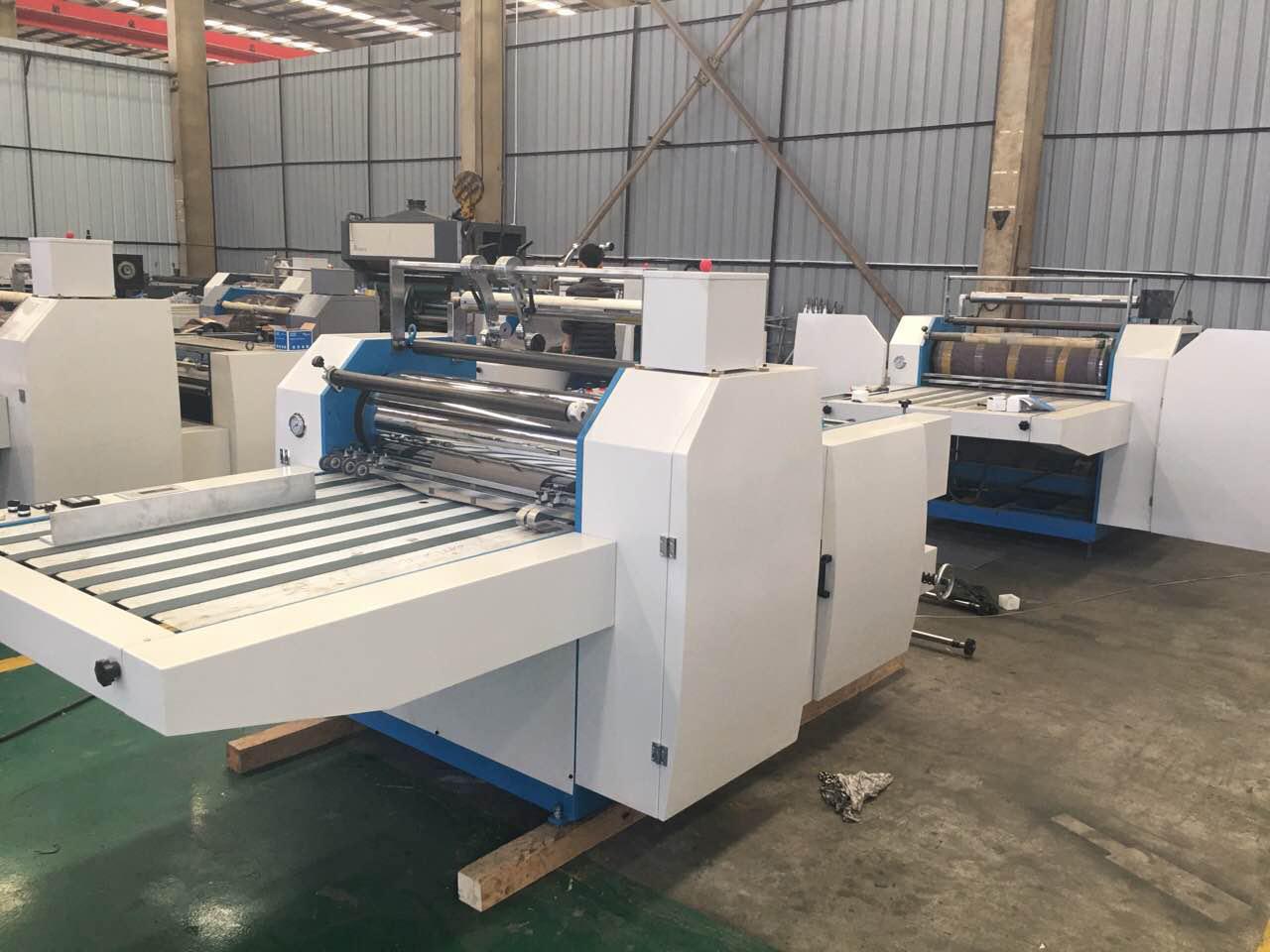 SF series film paper laminating machine pre-coated thermal lamination machine wenzhou machinery