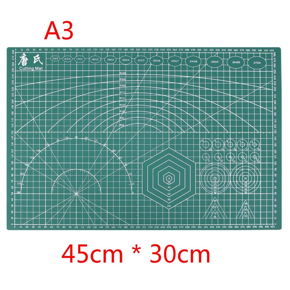 Cutting Supplies Office & School Supplies Efficient A4 Grid Lines Cutting Mat Plastic Cutting Pad Craft Card Fabric Leather Paper Board Handmade Diy Paper Card Cutting Mat Plate