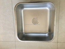 Commercial 304# Stainless Steel Square Sink