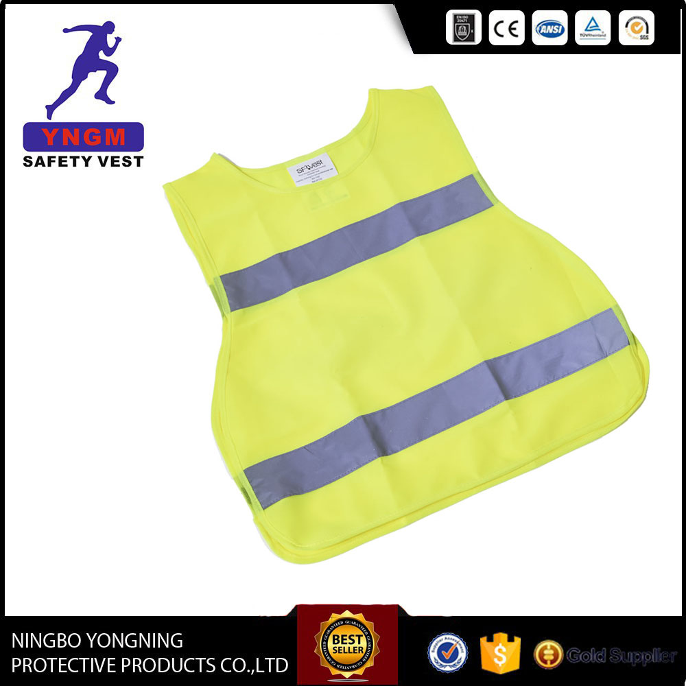Hot Selling chaleco reflectante reflective children safety vest