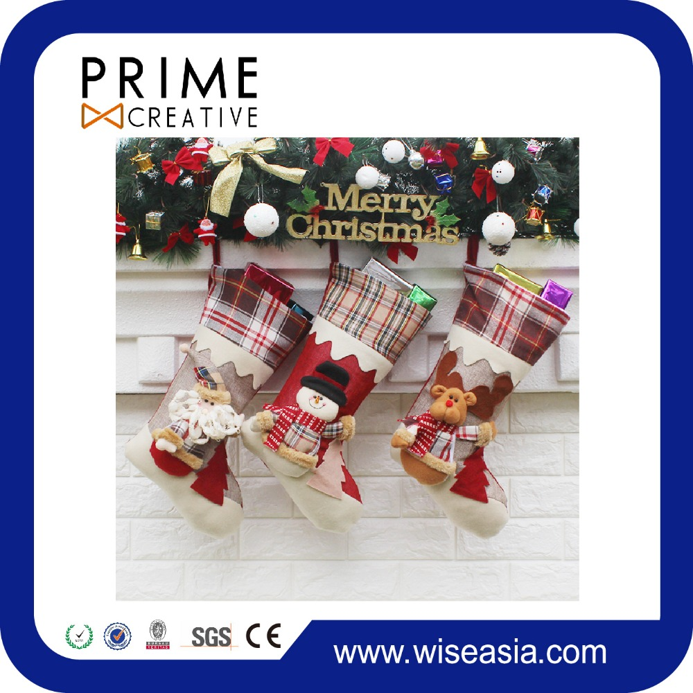 Christmas Ornaments Tree Hanging Boots Socks Festival Decorations