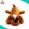 Wholesale cute pencil case plush dog animal shaped customized pencil case