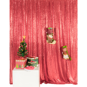 Collapsible DIY Backdrop Decorations Church Backdrop Curtain