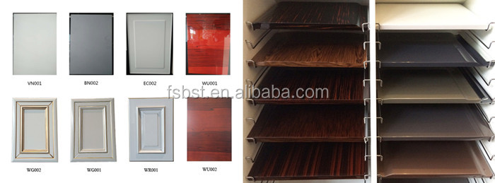 Kitchen Cabinet Doors Aluminum Frame Frosted Glass Door For Sale