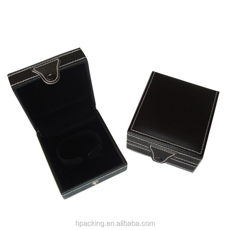 Two-tone glossy lacquer painting double ring box