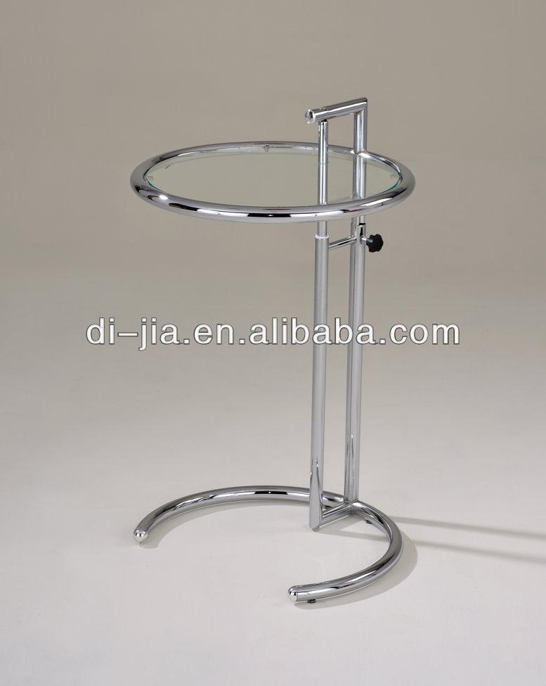 hhenverstellbar glas beistelltisch moderne beistelltisch eileen gray glastisch - Glasbeistelltisch