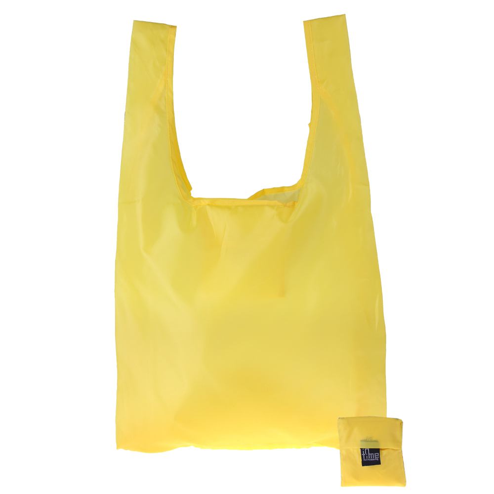 9c5b3b2e8166 Get Quotations · 10pcs lot cnsusino Yellow Foldable Bag Folding Bag  Resuable Shopping Bag for Wholesale
