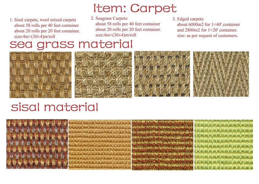 Sea Gr Carpet Sisal Rugs Mats Product On Alibaba