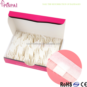 Pinpai Brand Uv Gel Remover Pattern Foil Nail Wraps Bandage