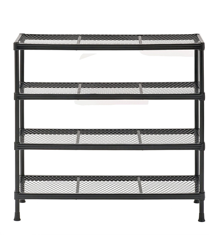 Modern 4 Tier Metal Shelving Shelf Rack Garage Office Kitchen Storage Unit Wire Utility  sc 1 st  Alibaba & Cheap Metal Shelf Unit find Metal Shelf Unit deals on line at ...