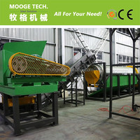 Pet sorting crushing washing plastic bottle recycling machine