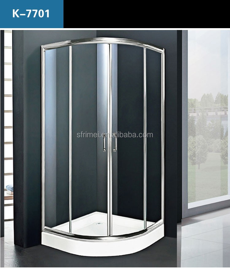 Round Glass Shower Cabin, Round Glass Shower Cabin Suppliers and ...