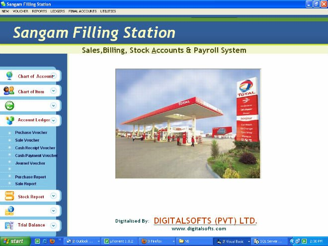 Petrol And Cng Filling Station Software