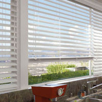 pvc basswood plantation shutters for venetian blinds
