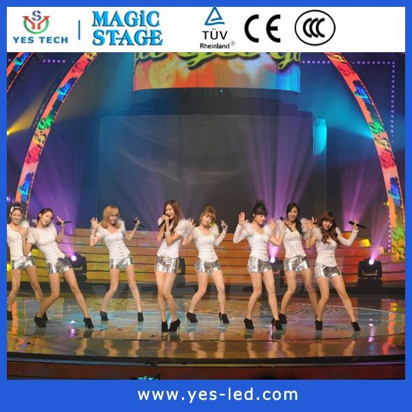 stage new visual effects led display screen slim light and thin