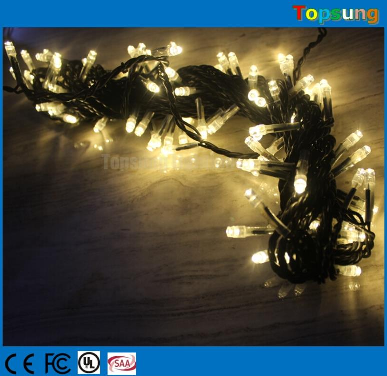 127v 100 led warm white luz de navidad connectable manufacturer