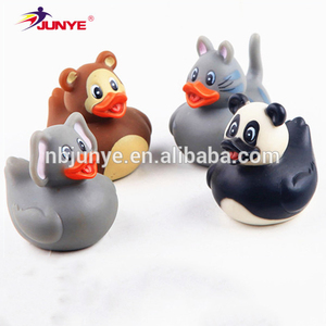 Ning Bo Jun Ye custom high quality mini rubber bath duck