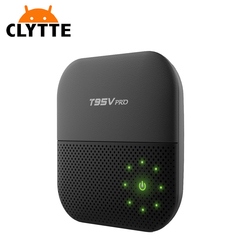 T95V Pro tv box android 7.0 Amlogic S912 4K Dual 2.4/5G WiFi BT HD 1080P card sharing tv box dvb s2 set top box
