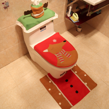 Outstanding Alibaba Christmas Toilet Seat Cover Rug Set For Promotional Gifts Christmas Decoration Xmas Reindeer Toilet Sea Cover Buy Christmas Gift Toilet Seat Squirreltailoven Fun Painted Chair Ideas Images Squirreltailovenorg