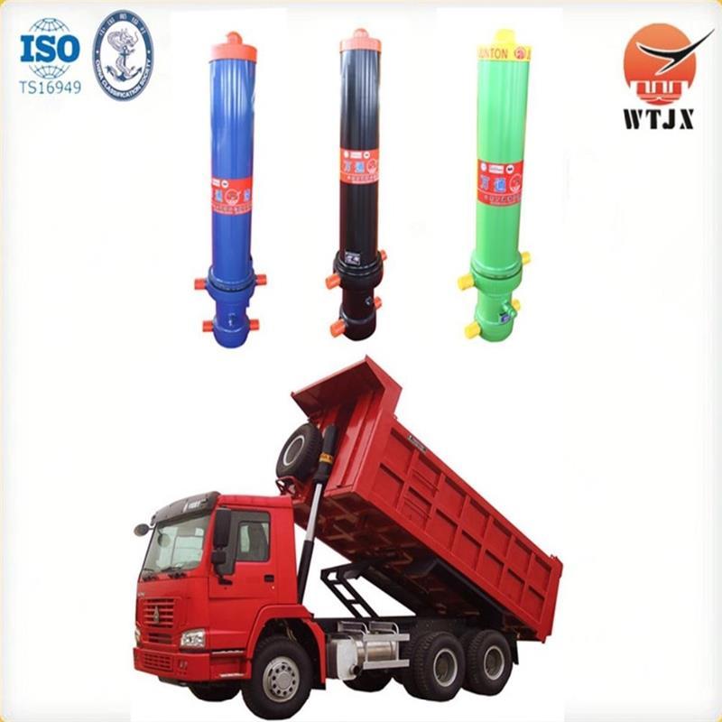 binotto type telescopic jacks for tipper trucks