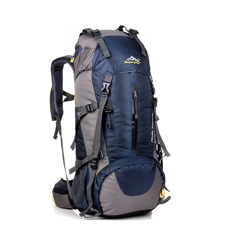 Custom logo outdoor adventure mountain Travelling Bag Sports Hiking Waterproof Backpack
