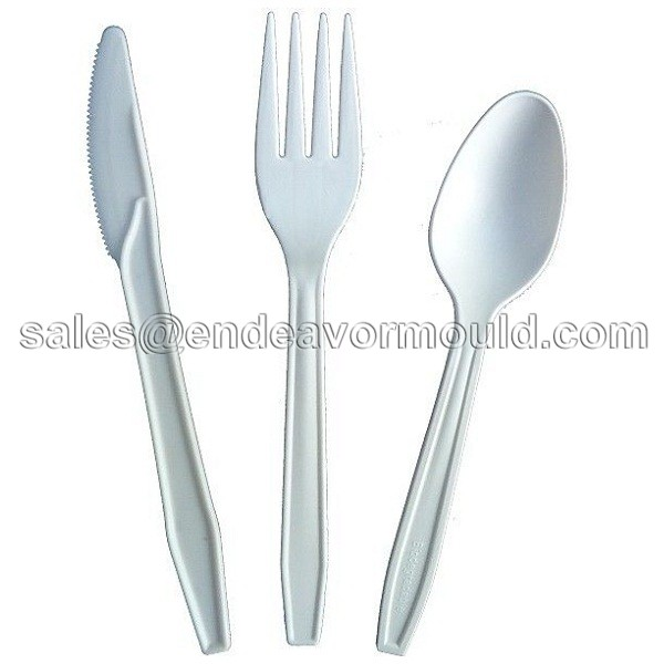 10 years no complain plastic disposable fork/spoon/knife injection mould
