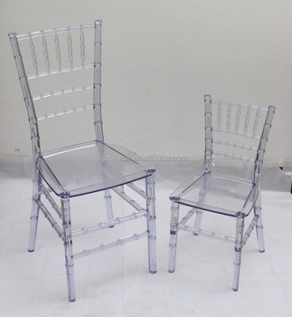 wholesale acrylic kids children chair events