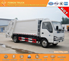 factory direct rear loader garbage truck compressing garbage truck japan technology 600P 4x2 for sale