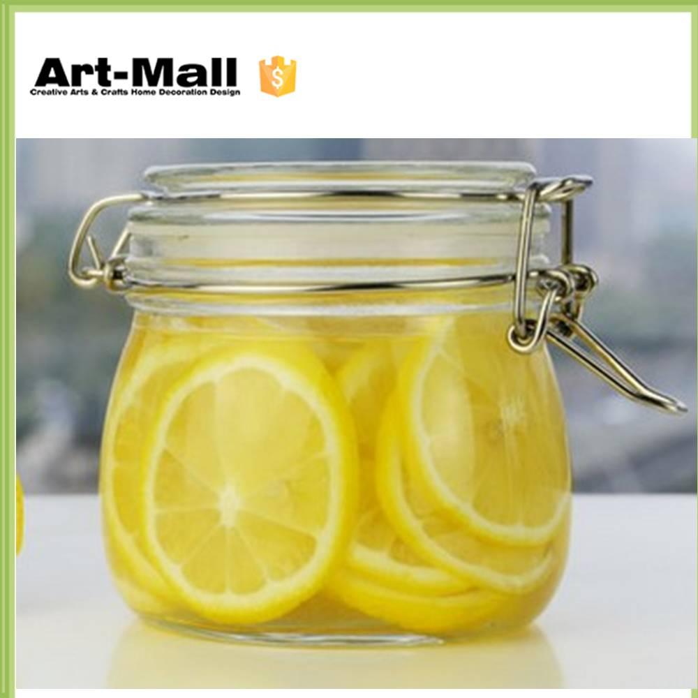 Decorative Glass Jars With Lids smartprosus