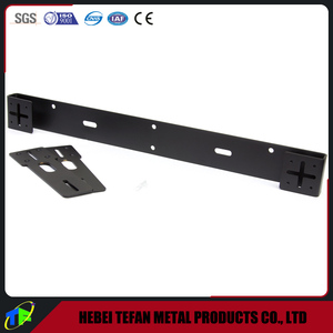 Motorcycle Front/Rear License Plate Bracket
