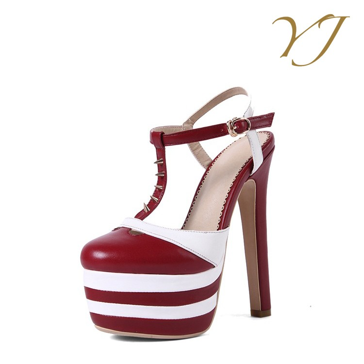 fashion and heels high fancy shoes platform Popular shoes party ladies OaFqwq5xP