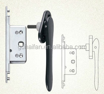 Concealed Door Handle For Aluminium Bi-fold / Folding Doors With ...