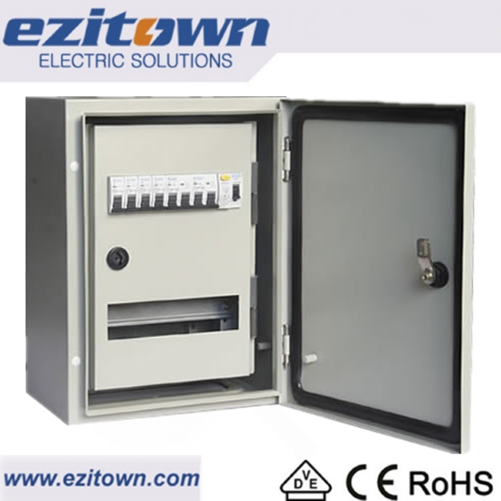 Ezitown ip65 Modular waterproof Metal Enclosure 3 phase power distribution box