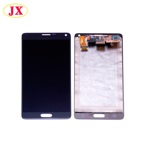 Lowest price LCD for Samsung Galaxy Note 4 spare parts