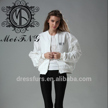 Street Style Mode Conception <span class=keywords><strong>Veste</strong></span> de Femmes Blanches <span class=keywords><strong>Pour</strong></span> <span class=keywords><strong>L</strong></span>'<span class=keywords><strong>automne</strong></span> Et le Printemps