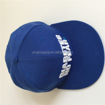 5bf2b0244f5 100% cotton Wholesale 6 Panel Unstructured Embroidered Fitted flexfit closed  back Custom snapback cap