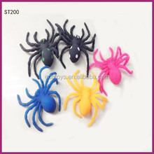 Wholesale Jelly Sticky Spiders Toys For Halloween