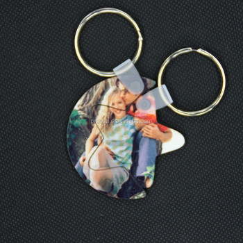 wholesale personalized custom romantic couples stars and moon hug auto key chain/keyring