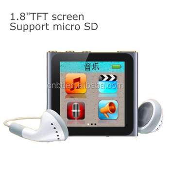 Mini Cheap mp4 player with SD card great price multi-languages player