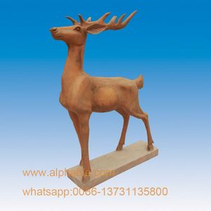 Hot Selling Marble Life Size Deer Statue