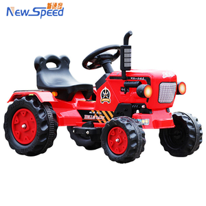 Red color truck model tractor toy kids electric car