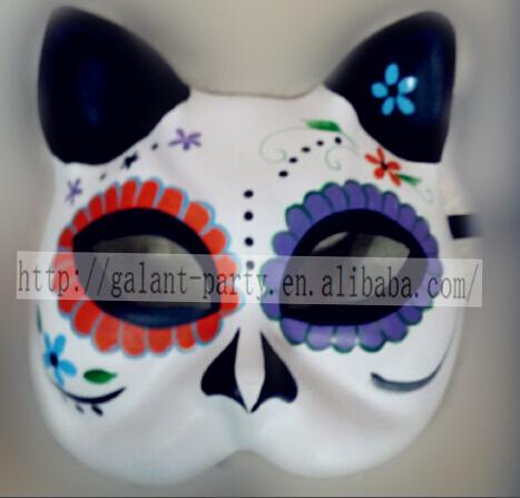 Yüksek Kaliteli Boyama Kedi Maskesi üreticilerinden Ve Boyama Kedi