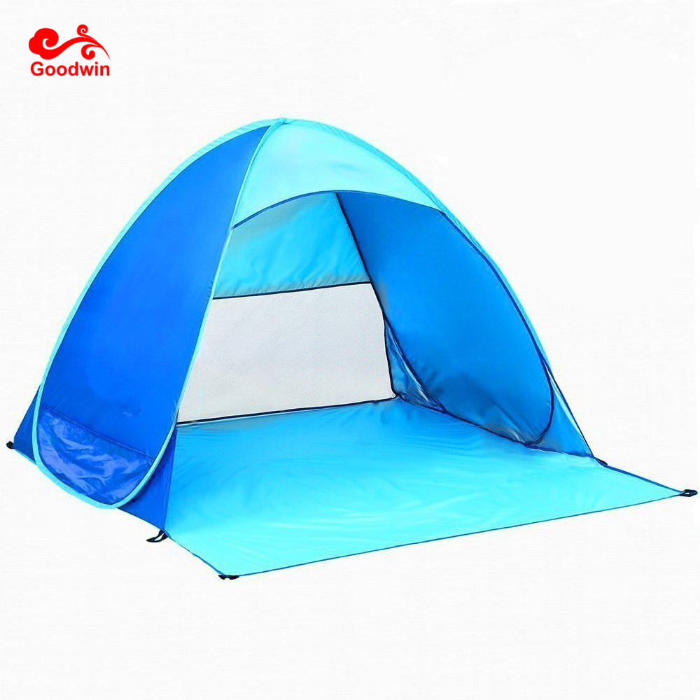 Strand Tent Automatische Pop Up Strand Tent Waterdicht Anti UV Strand Paraplu Tent